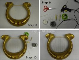 Zelda Goddess Lyre : tutorial part 3 by Narayu