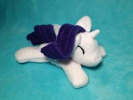 Filly Rarity beanie plush by Bewareofkitty
