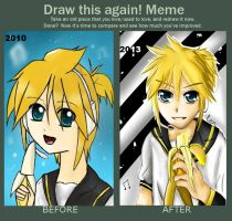 Draw This Again Meme by darkanime93