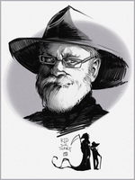 sir Terry Pratchett by Creature13