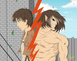 Attack on Titan by Horu-chan