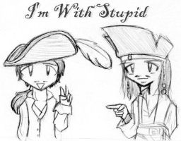 I'm With Stupid by Mioku