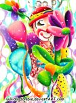 Loopy The Clown by yukidogzombie