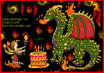 Dragon Birthday by Dragon-King-Typhon