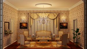 Classic Living Room by merage