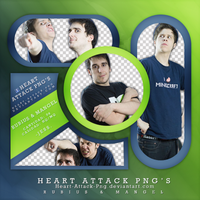 +PNG - Rubius y Mangel. by Heart-Attack-Png