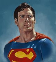 Superman by laurahough