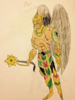 Hawkman (Justice League Alpha) by MonkeyOverlord98