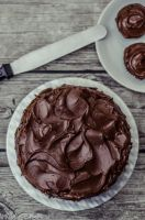 Salted caramel and chocolate cake by LoMiTa
