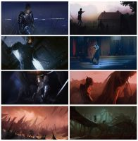 Speedpaints Nov 2013 by bradwright