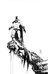 Gunnell pencils Batman Commission by RyanWinn