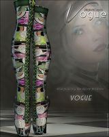 Vogue for Frightful Boots by cosmosue