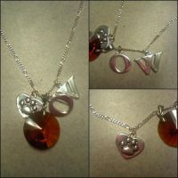 Oliver Wood Necklace by kandell