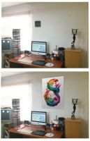 Upgrade my studio with an Angel of Colors by DavidSerret
