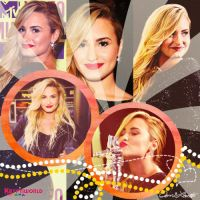 Demi Lovato Blend. by kryptiworld