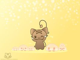 Momocheet and the Mochi Bunch by lafhaha