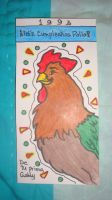 Rooster by Eliza-1985