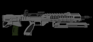 AR-558 Bullpup WIP 1 by Jon-Michael-May