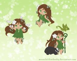 Chibi Laurel by MoonchildinTheSky