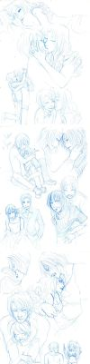 Love sketches by Moemai
