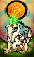 Okami - New Sun Rises by Grypwolf
