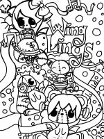 Plushie Wingling Coloring Book Page 2 (20 points) by TinyFurrTails