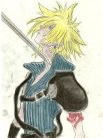 Cloud Strife FF7 by Kimmimaru-kun