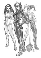 DC Bad Girls by huy-truong