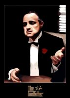 The Godfather - reframed by thezha