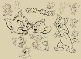 More Tom and Jerry by scratchmark