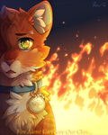 Fire Alone Can Save Our Clan... 2016 by MeggisCat