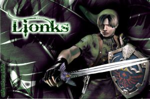 Lionks,Leon and Link XDXD by ArcanaHunkCamreKaenz