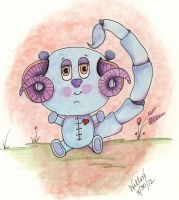 Stiched Teddy by originalwillow