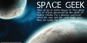 Space Geek - Free Font! by Ulario