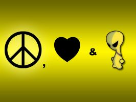 Peace, Love and Jark by houseofleaves