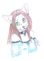 Lili badge by wolf-spit