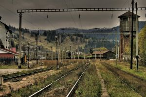 train station hdr by iacobvasile