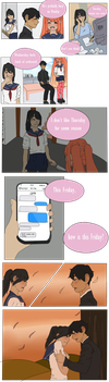 Yandere sim - Meet You on Friday by Clare-Ah