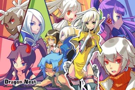 ::Dragon Nest:: our 2010 by ZiyoLing
