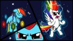 Super Rainbow Dash Transformation by sheandog