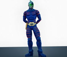 Shark Man 2nd skin textures for M4 by hiram67
