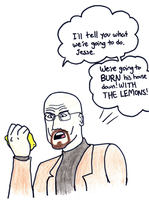 Lemons and Walter White by pikmin789