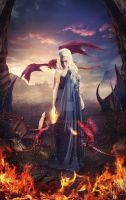 Daenerys - Mother of Dragons by charmedy
