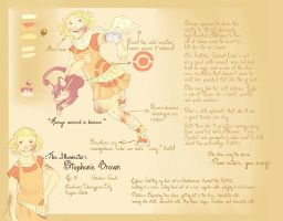 Pokemon OC - Stephanie Brown by wanlingnic