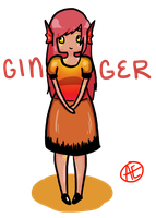 Fishsona - Ginger CLOSED by Ae-Adoptables