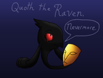 Marriland Black Wedlocke: Quoth Raven, Nevermore by Canarybirdz