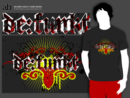 De:Funkt_Logotype and T-shirt by atobgraphics
