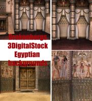 Egyptian background pack by 3DigitalStock