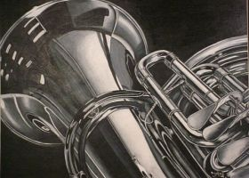 Tuba by prismacolorjessie