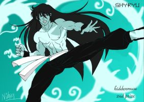 Prize for Hiddenmuse: Shiryu by Nizhan